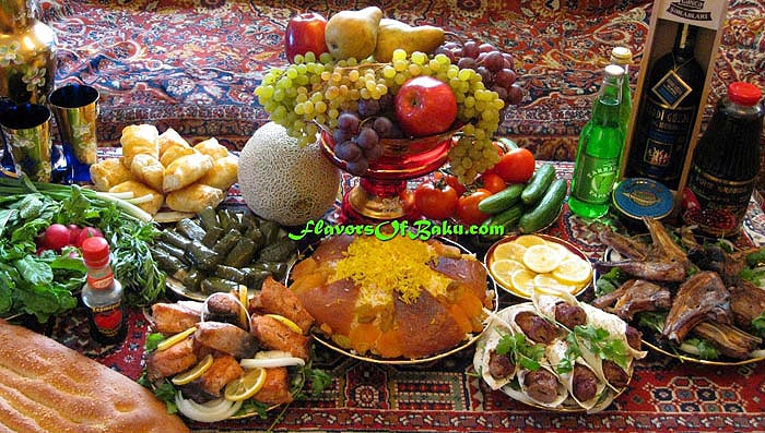 Azerbaijani dishes flavors of baku for Azerbaijan cuisine