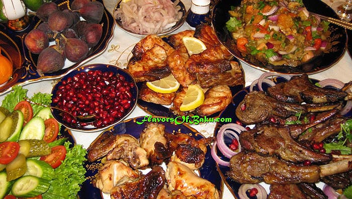 Azerbaijani dishes flavors of baku for Azerbaijani cuisine