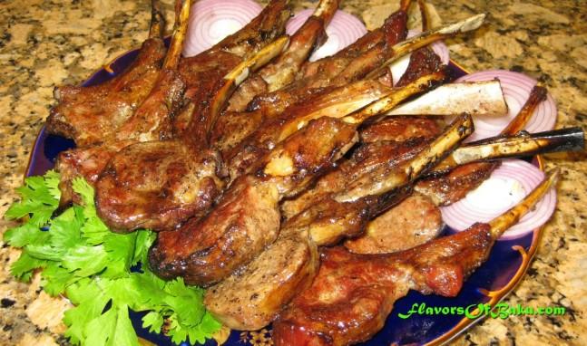 Lamb Chops Kebab