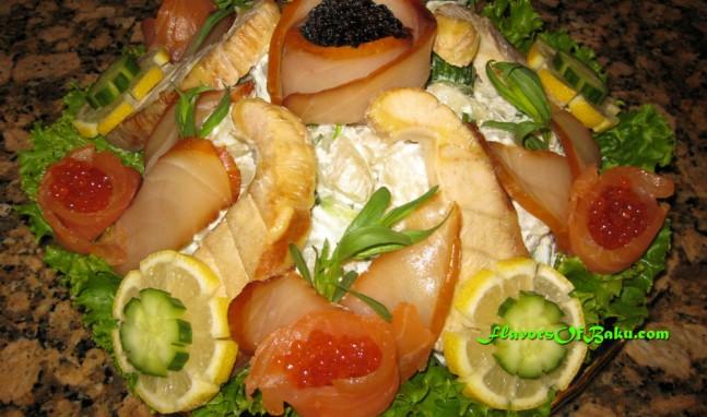 """Salad """"Khazar"""""""