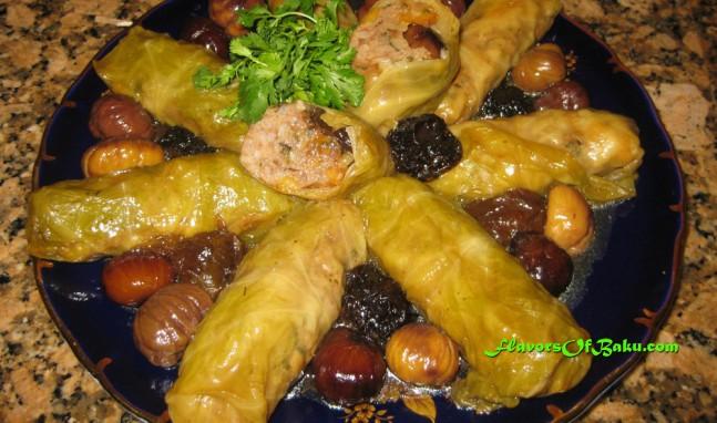 Turshi Kelem Dolmasi Azeri-style
